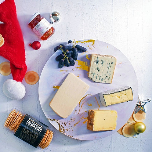 Christmas Cheese Gift Hamper $95