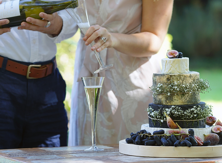 """Say """"I Do"""" for a Wedding Cheese Tower"""