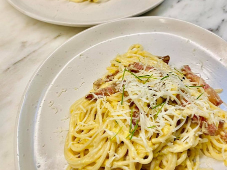 How We Made Carbonara Even More Decadent