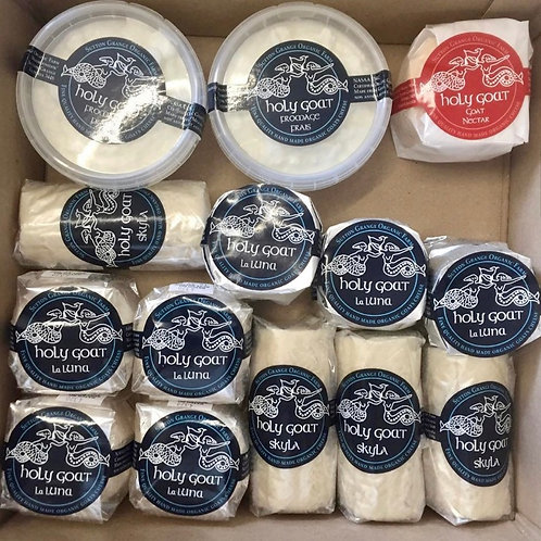 Holy Goat Cheese Sample Pack