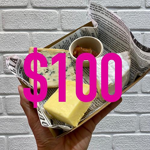 $100 Australian Cheese Platter