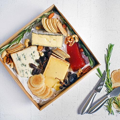 Christmas Cheese Gift Hamper $60
