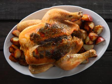 Truffled Roast Chicken Recipe