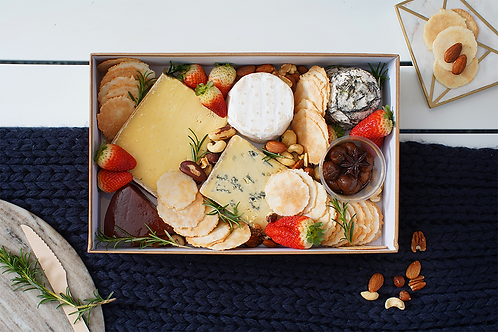 Silver Local Cheese Platter Box