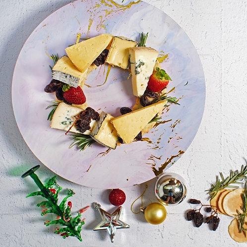 Christmas Cheese Wreath Gift Hamper