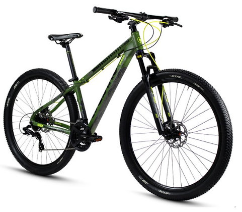 Bicicleta ALUBIKE MTB Slite 29 Forest Green