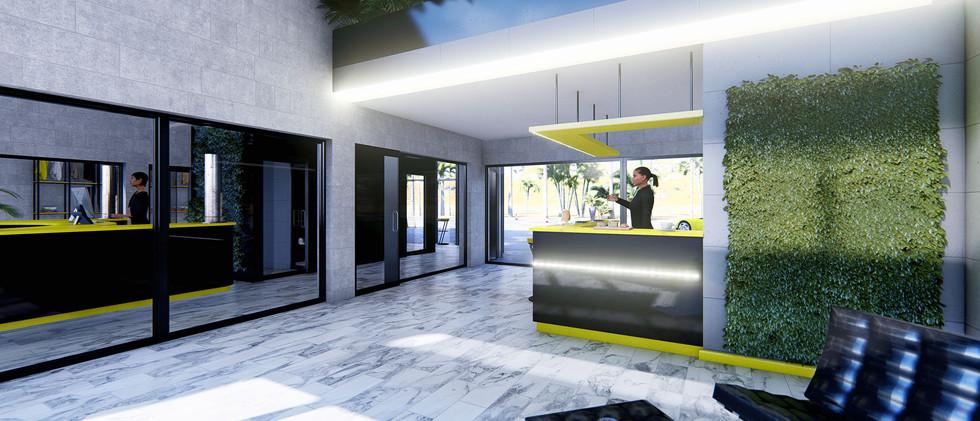 Area lounge bar
