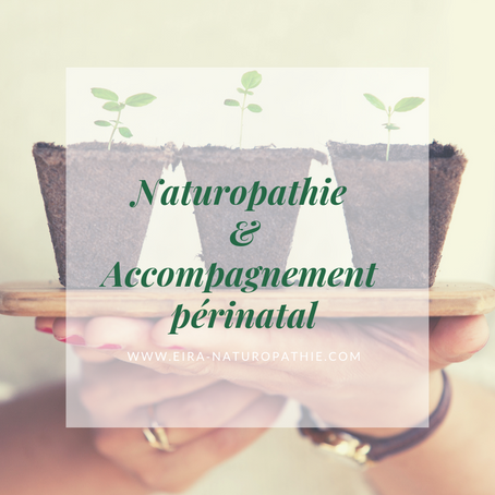 La Naturopathie & l'accompagnement périnatal