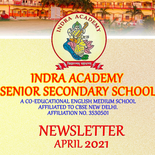 Publishing our Newsletter for the Month of April