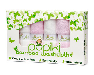 Pink Package Washcloths