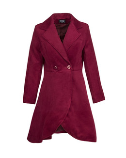 Red Suede Coat Photography