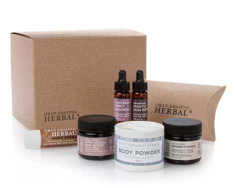Herbal Body Powder and Cleanser