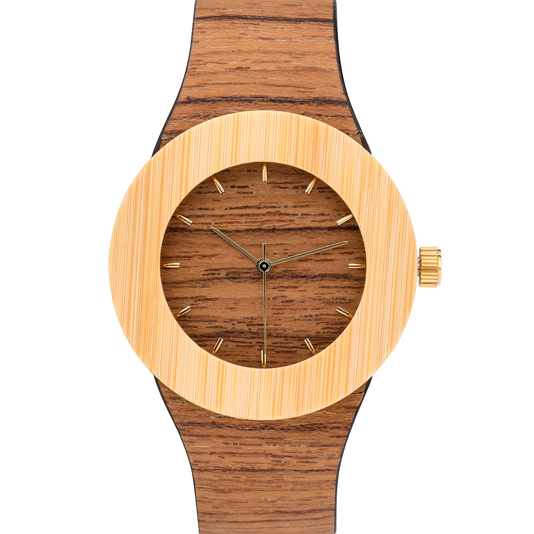 Special Wood Grain Watch Photography