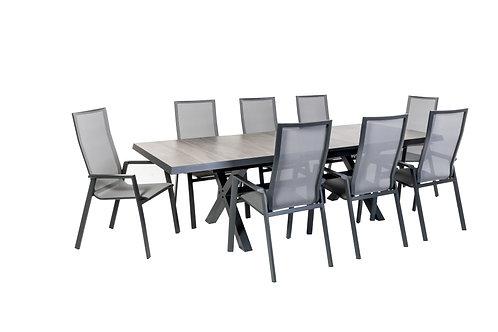 """DINING KOMPLETTSET """"TURIN"""" - für 8 Personen"""