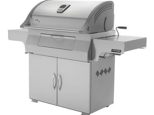 Napoleon Charcoal Professionnal PRO 605 (PRO605CSS) Holzkohlegrill, Edelstahl