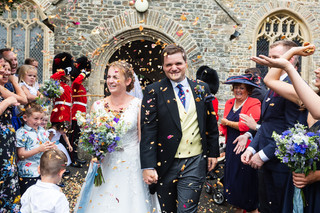 V&H's North Devon Wedding
