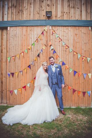 Jon & Julia's Waterfall Wedding