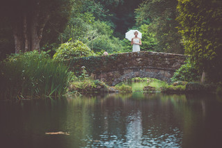 Bridal Editorial at Bovey Castle