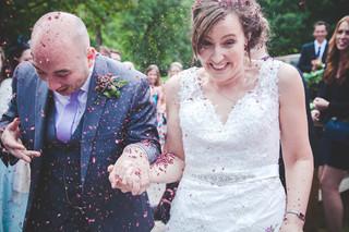 Alex & Rachel's Canonteign Wedding
