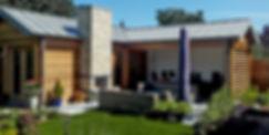 Tuinhuis in Amstelveen | Tuinhuis van natuurlijke materialen