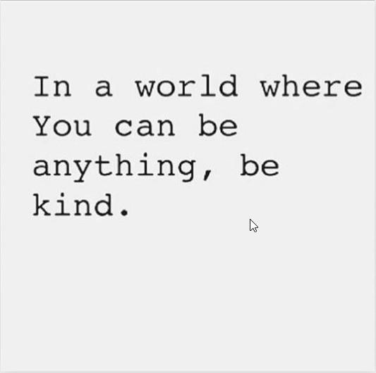 Caroline Flack instagram post kindness