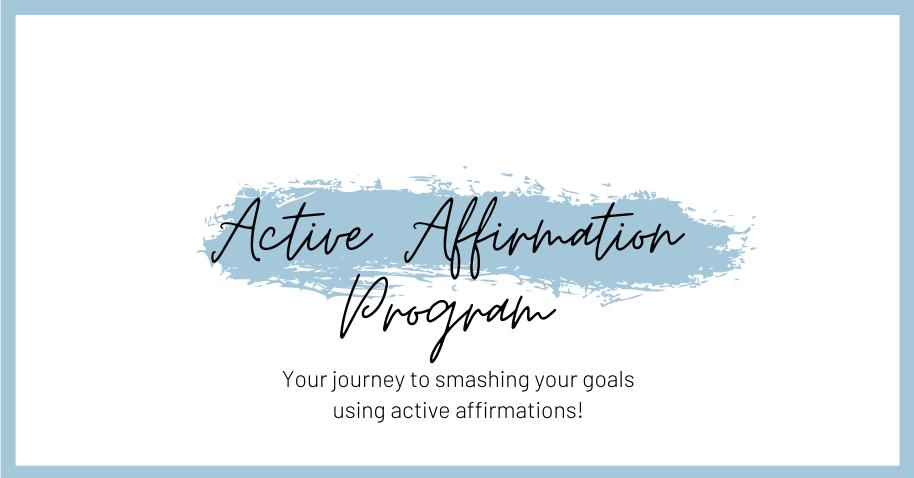 Logo for the active affirmation program