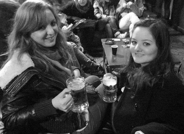 Dresden Germany with a friend