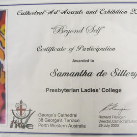 Cathedral Art Awards & Exhibition 2003