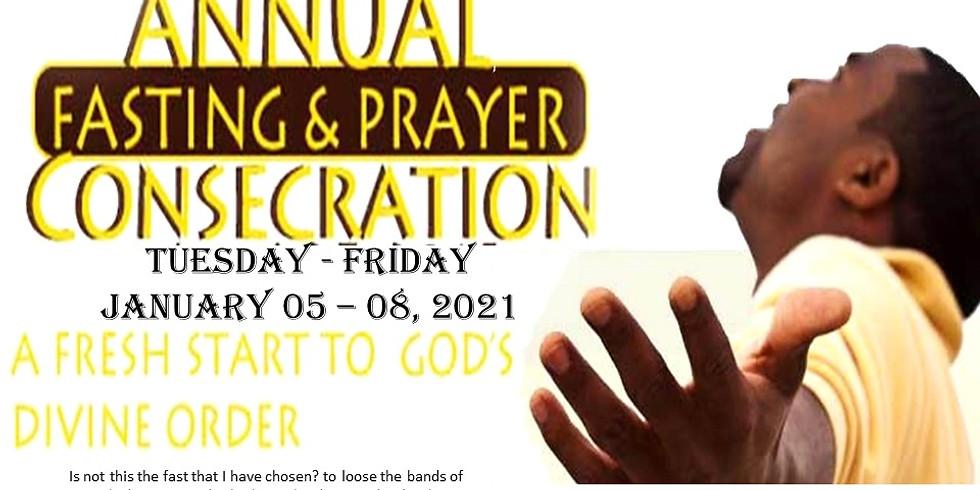 Annual Fasting & Prayer