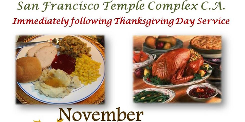 Thanksgiving Community Dinner