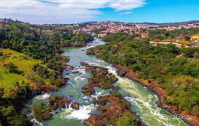Rio Raranapanema - Salto Piraju