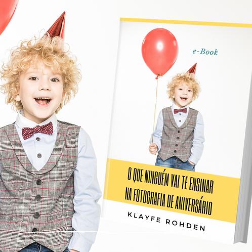 e-Book Fotografia de Aniversário
