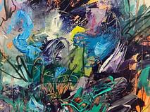 """Painting """"Ocean floor"""""""