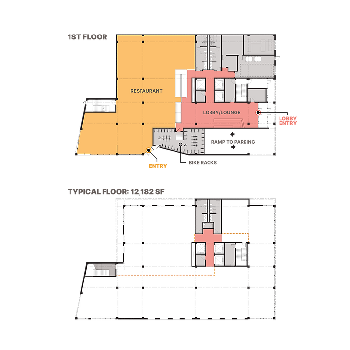 The Charlie Blake floor plans