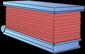 Osłona harmonijkowa stołu podnośnego HYMO