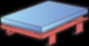 Rama stołu unoszącego HYMO
