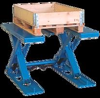 Platforma nożycowa HYMO MXE - platforma do rozładunku palet