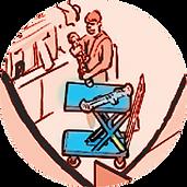 Transporter nożycowy HYMO