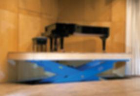Platforma nożycowa HYMO DX - piano