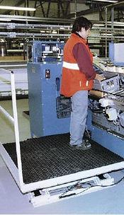 Platforma robocza nożycow HYMO MXR