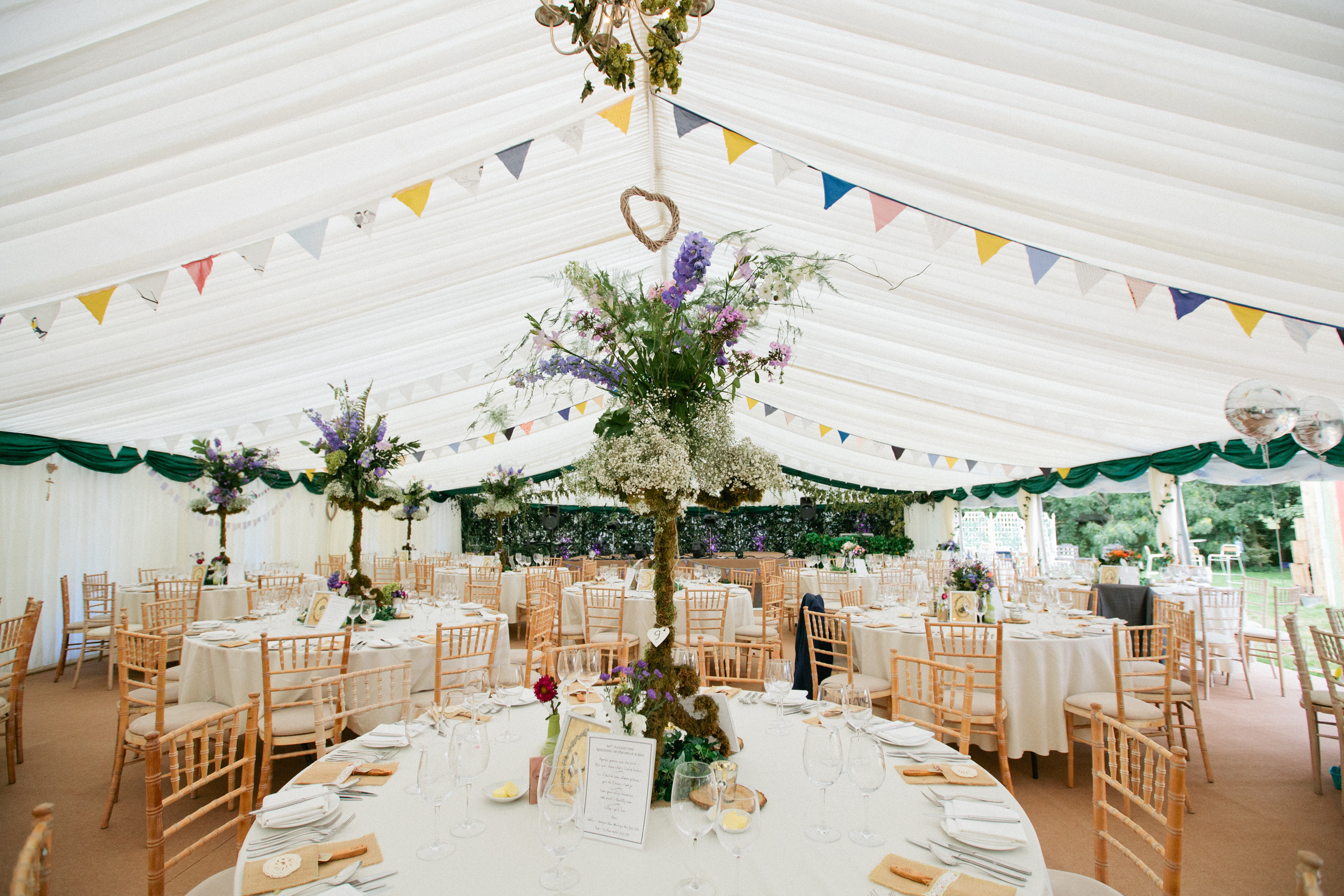 CM wedding marquee centre profile