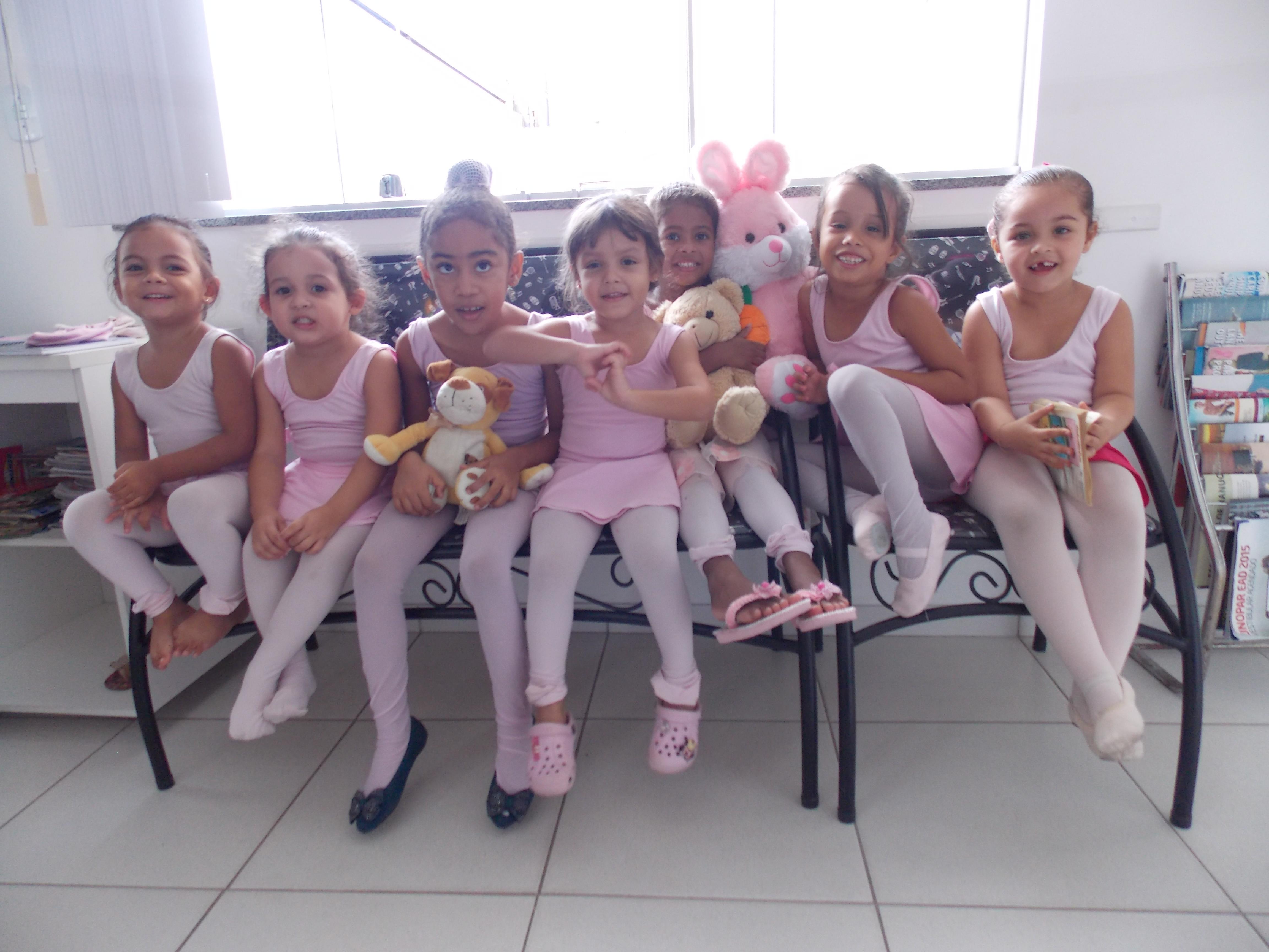 Nossas alunas do Ballet Baby
