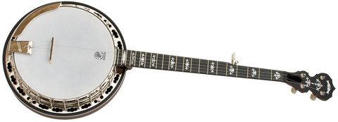 Deering Sierra Dark Maple Resonator Banjo