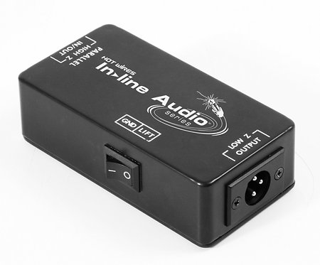 Hot Wires DB500 In-Line Audio Passive Direct Box