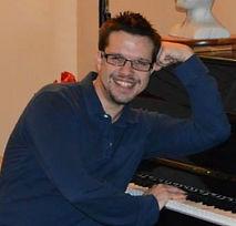 Chris Hamm teaches voice, violin, viola, cello and piano
