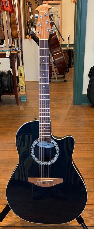 Ovation Standard Balladeer Acoustic/Electric Guitar