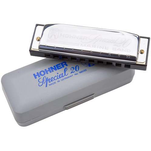 Hohner Special 20 10-hole Diatonic Harmonica
