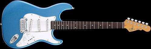 G&L Tribute Legacy Electric Guitar:Blue/RW/WBW