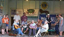Maidencreek Old Time Music Festival Stage