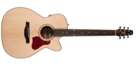 Seagull Maritime Concert Hall CW SWS Semi-gloss QIT Acoustic/Electric Guitar